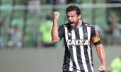 Fred comemora gol no Brasileirão: números dizem que atacante faz a diferença para o Galo (Foto: Futura Press)