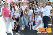 Estudantes de enfermagem durante o evento (foto: Charley Garrido)