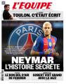 """""""L'Équipe"""" traz """"história secreta"""" de negociação entre Neymar e o PSG (Foto: Reprodução)"""