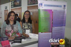 Estande do livro em Cuiabá-MT