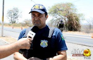Agente Hugo Severo, da PRF de Cajazeiras
