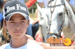 Vaqueiros realizaram protesto em Sousa (foto: Charley Garrido)