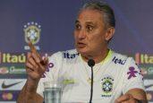 Tite admitiu surpresa com o resultado da Seleção (Foto: Pedro Martins / MoWA Press)