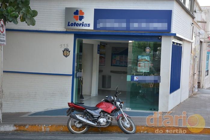 A tentativa de assalto foi registrada nesta terça-feira, no centro de Cajazeiras