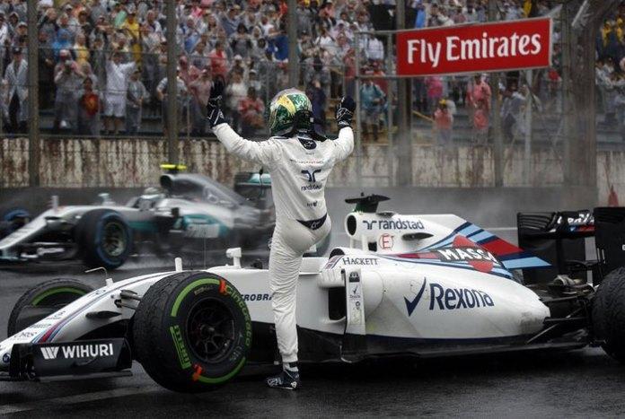 Felipe Massa se despede de Interlagos como brasileiro com maior números de pódios Efe
