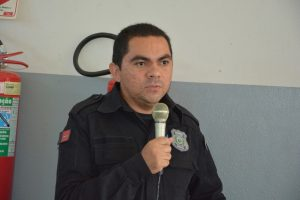 Thales Almeida, diretor do presídio