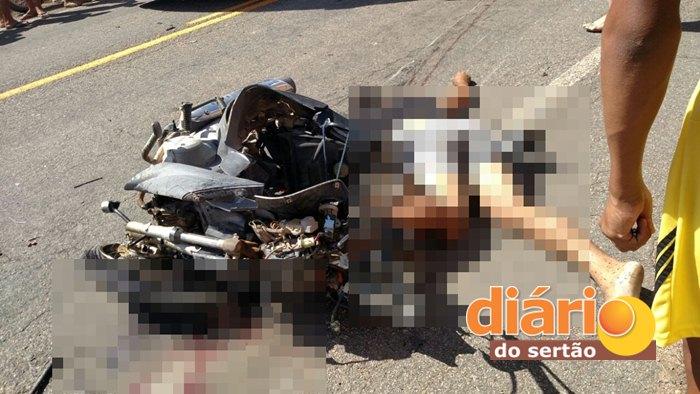 Acidente com vítima fatal na PB 400 (Foto: Reprodução / Whatsapp)
