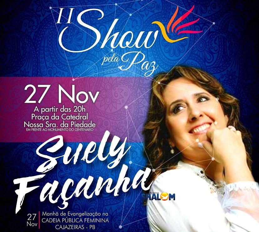 II Show Pela Paz será em frente à Praça da Catedral