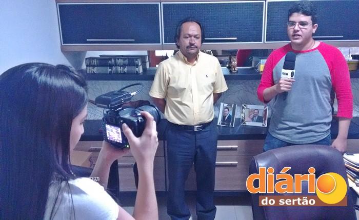 Advogado prestou entrevista ao Diário do Sertão (foto: Charley Garrido)