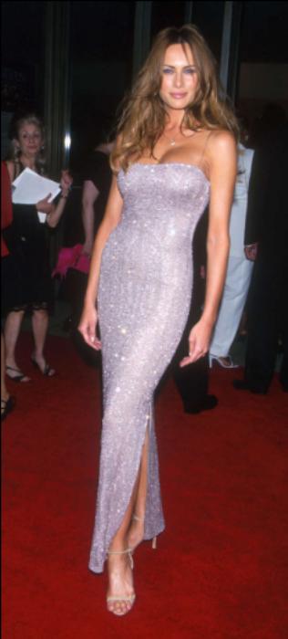 Melania Trump: A nova primeira-dama dos Estados Unidos - A ex-modelo no final da década de 90. © GETTY IMAGES