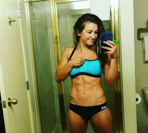 MIESHA TATE - A norte-americana chegou a ser campeã do UFC, vencendo Holly Holm. Ela perdeu o título para Amanda Nunes. O título de musa, porém, vai ser difícil de perder © REPRODUÇÃO / INSTAGRAM