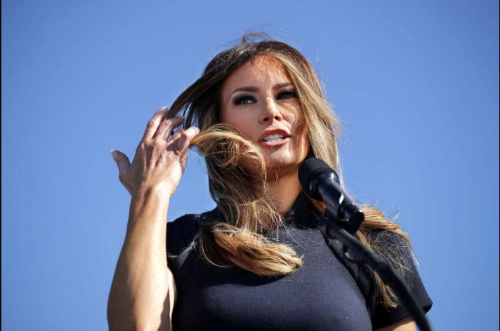 Melania Trump: A nova primeira-dama dos Estados Unidos - Melania já foi modelo. © GETTY IMAGES