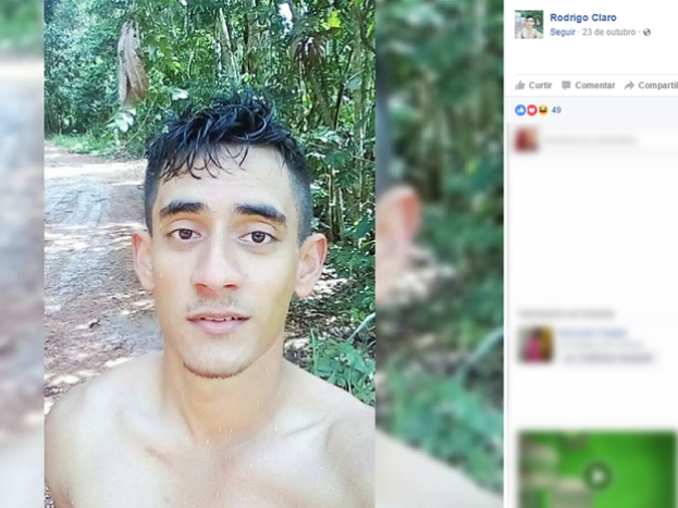Rodrigo Claro, de 21 anos, morreu depois de passar mal em treinamento de salvamento aquático (Foto: Reprodução/ Facebook)