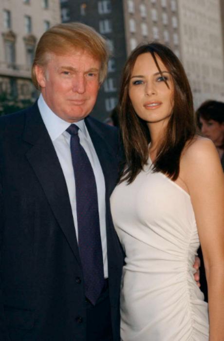 Melania Trump: A nova primeira-dama dos Estados Unidos - Com o novo presidente dos Estados Unidos. © GETTY IMAGES