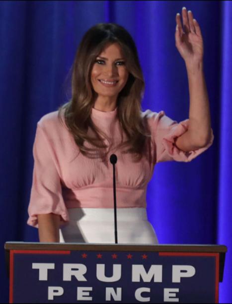 Melania Trump: A nova primeira-dama dos Estados Unidos - Durante a campanha. © GETTY IMAGES