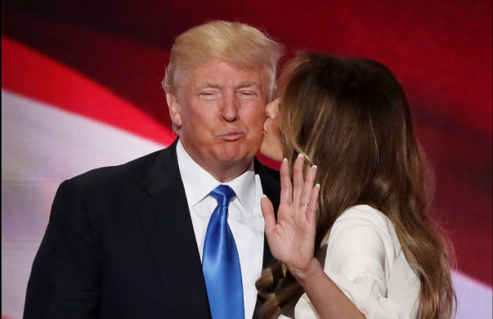 Melania Trump: A nova primeira-dama dos Estados Unidos - Durante a campanha vitoriosa do marido. © GETTY IMAGES
