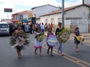 Sepulamento de Fransuar Pires em São João do Rio do Peixe (Foto: Chico Xavier / Whatsapp)