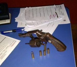 Arma apreendida pelo 13º Batalhão de Policia Militar