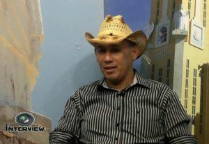 Zé de Freitas no programa Interview
