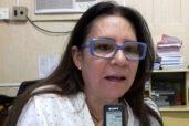 Professora Andreia Braga, gerente da nona regional de ensino sediada em Cajazeiras (Foto: Reprodução / O agora)