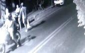 Câmera registrou o momento da tentativa de assalto