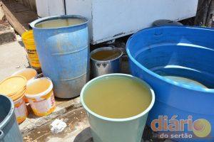 Coloração da água acusa a qualidade