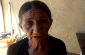 Senhora em entrevista à imprensa sertaneja (Foto: Reprodução / Youtube)