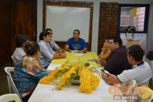 Vice-prefeitos reunidos na AMASP
